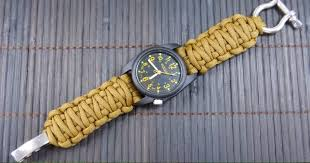 please be 100 sure that your watch band strap needs a replacement as you will be permanently replacing it with paracord
