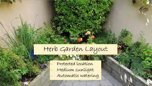 herb garden layouts working wood herb garden design