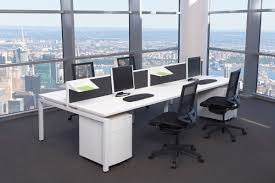 black and white office. White Office Table. Cool Black And Interior Set With Modern Desk Plus Partition I