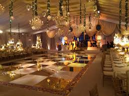 elegant wedding reception tent