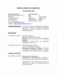 How To Write Resume Singapore Sample Student Pleasing A Good Cover