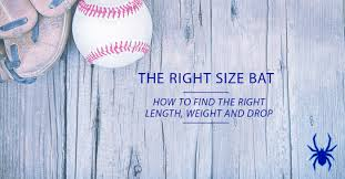 Baseball Bat Chart Height Weight What Is The Right Size Baseball Bat Spiders Elite