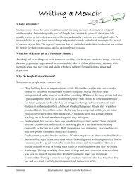 Example Memoir Essay Memoirs Essay Examples Popular Thesis Statement