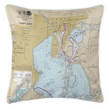 Tide Chart Tampa Bay Fl Longshore Tides Ruger Harbour Island Tampa Fl Throw Pillow