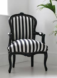 incredible black upholstered chair and white striped regarding arm
