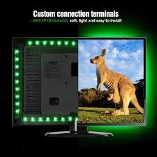 Led Tv Backlight Infinitoo Led Lights 4 50cm Set Usb Led Strip Light 5050 Rgb With Remote Control For 40 60 Inch Hdtv Pc Monitor Desktop Tables