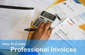 How To Create A Professional Invoice How To Create Professional Invoices Get Paid Faster