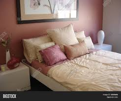 Pink And Cream Bedroom Pink And Cream Bedroom Stock Photo Stock Images Bigstock