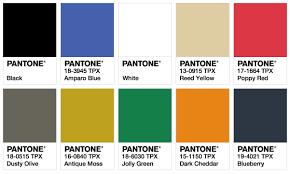 ISPO Color Palette Spring/Summer 2018 \u2039 Fashion Trendsetter