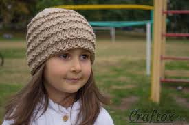 Child Knit Hat Pattern Best Chain Link Knit Hat Pattern AllFreeKnitting