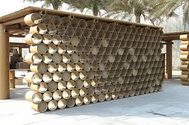 cardboard tube furniture. Paper Tube Furniture Bans Cardboard Pavilion Art Design A Green Innovation Architecture Building World Lexington Ky R