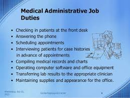 Medical Assistant Administrative Duties Magdalene Project Org