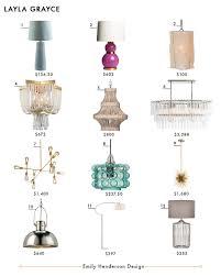 crosby collection large pendant light. Layla Grace Emily Henderson Design Lighting Roundup Crosby Collection Large Pendant Light