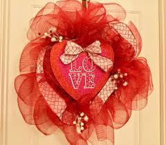 wreath valentine s day
