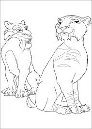 Small Picture 53 best Ice age coloring book images on Pinterest Ice age
