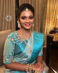 Makeover Saree Designs Subtle Makeover For Krithika