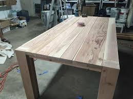 How To Build A Diy Farmhouse Dining Room Table Sawshub