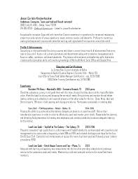 Culinary Resume Examples Stunning Chef Resume Example Chef Resume Skills Examples Netdoma