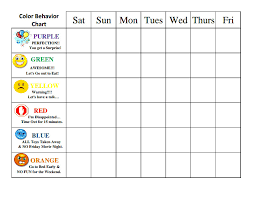 6 Year Old Behavior Chart Awesome Sample Schedule For 5 Year