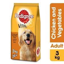 Buy Pedigree Chicken Vegetables Dry Dog Food Adult 3kg