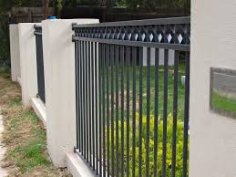 Fence Design And Color Modern Black And White Fence Color 4 Home
