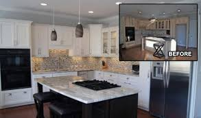 cabinet refinishing for kitchen and bathrooms