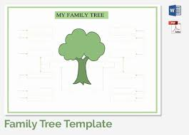 Draw A Family Tree Template Unique Build A Family Tree