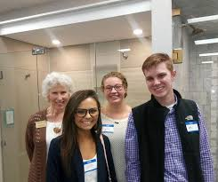carson newman students attended the knoxville tn interior design society professional meeting at clinton gl after touring the showroom they watched