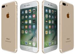 iphone 7 white and gold. apple iphone 7 plus gold 3d model max obj 3ds fbx wrl wrz mtl 2 white and