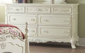 Off White Furniture Bedroom 1386 Bedroom In Off White By Homelegance W Options