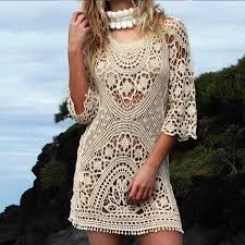 Crochet Swimsuit Cover Up Pattern Magnificent Design