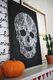 Love This Diy Skull String Art