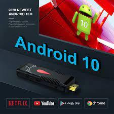Neue Ankunft X96 S400 Mini Android TV Stick Unterstützung Youtube Netflix  Spiele Iptv Miracast Set Top Box Android|Set-top Boxes