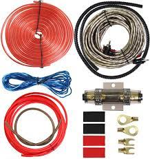 Amazon.com: 8 Gauge Car Amp Wiring Kit - Welugnal Amp Power Wire Amplifier  Installation Wiring Wire Kit, Power, Ground, Remote Cable, RCA  Cable,Speaker Wire, Split Loom Tubing Fuse Holder Subwoofers Wiring kit: