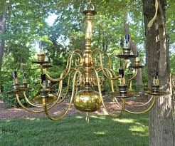 image of battery operated outdoor chandelier