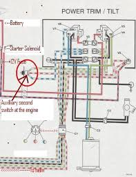 wiring diagram for tilt trim evinrude page iboats attached files