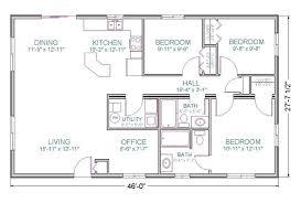ranch style open floor plan modular prow tlc homes building plans 50054