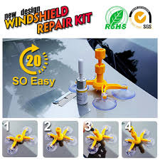 auto windscreen windshield repair tool set diy car wind glass kit for