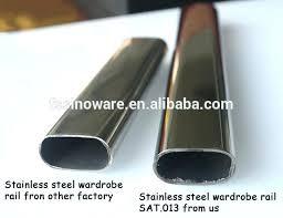 stainless steel closet rod oval closet rods stainless steel oval closet hanging rod with closet rod stainless steel closet rod