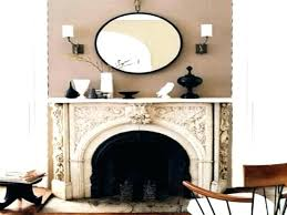 decorative mirrors for fireplace mantel round mirror above classy over mantels of amazing decorative mirrors above fireplace