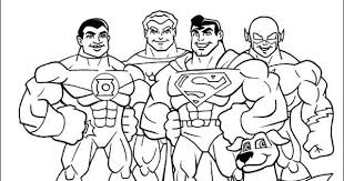 Small Picture Super Friends coloring picture Coloring for kid Pinterest
