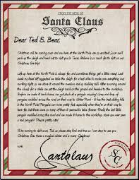when we were kids we always wrote letters to santa maybe we were sending to the wrong address because it sure would have been cool to get a letter back