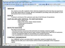 Help Writing Business Plan Help To Write A Business Plan