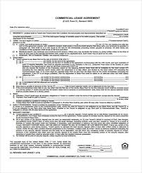 Commercial Lease Agreement Sample Magnificent 48 Sample Lease Agreement Forms
