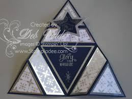Origami Triangle Star Card The Newborn King Stamp Set Star