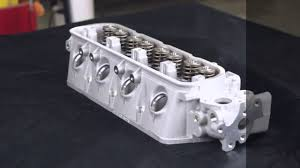 Toyota 4Y engine forklift head from Intella Liftparts - YouTube