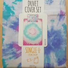 primark neon tie dye duvet cover set