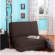 convertible beds furniture. Your Zone - Flip Chair Convertible Sleeper Dorm Bed Couch Lounger Sofa Multi Color New (Brown) Beds Furniture A