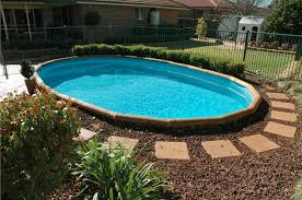 in ground pools cool. Above Ground Pool Landscaping Cool 9A12 In Pools D