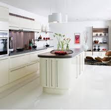 white tile floor kitchen.  White Lovely White Tile Kitchen Floor For